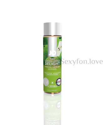 Вкусовой лубрикант Flavored Green Apple 30 ml, System JO H20